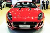 NONTHABURI - NOVEMBER 28: Jaguar F-type, sport convertible car,  — Stock Photo