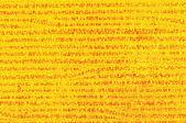 Textura de vidrio amarillo — Foto de Stock