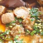 Paste of rice flour with pork — Stock Photo #49847783