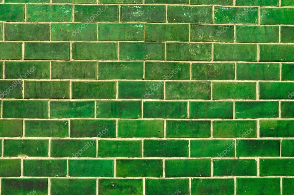 Pared de ladrillo verde grunge foto de stock 50170749 for Color verde grisaceo para paredes
