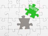 Oplossing — Stockfoto