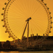 The London Eye - Foto Stock