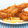 Fish and chips — Stock Photo #13665131
