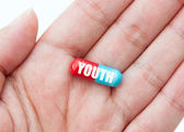 Pill of youth — Stock Photo