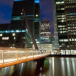 canary wharf — Stock Photo