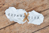 Separation — Stock Photo