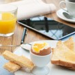 Business breakfast  — Stock Photo