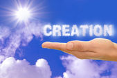 Creation — Stock Photo