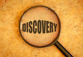 Discovery — Stock Photo
