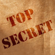 Top secret — Stock Photo
