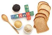 Gluten free — Stock Photo