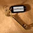 Stock Photo: Key to happiness