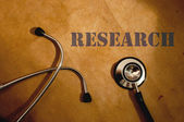Medical research — Stock Photo