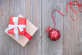 Noel hediyesi — Stok fotoğraf
