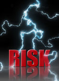 风险管理 — 图库照片