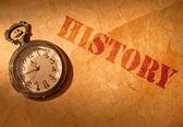 Historia — Fotografia Stock