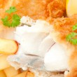 Fish and chips — Stock Photo #40190765