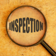 Stock Photo: Inspection