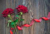 Kırmızı gül — Stok fotoğraf