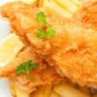 Fish and chips — Stock Photo #42113799