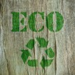 Stock Photo: Eco friendly