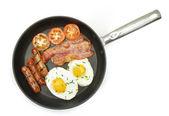 Fried breakfast  — Stock Photo