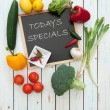 Todays specials menu — Stock Photo #44207665