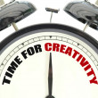 Time for creativity — Stock Photo