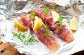 Rauwe vis — Stockfoto