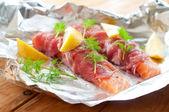 Raw fish — Stock Photo