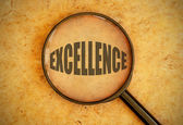 Focus on excellence — Stock Photo