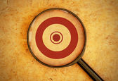 Focus on targets — Stock Photo
