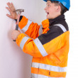 Builder in working — Stock Photo