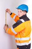 Builder in working — Stock Photo