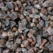 Granite gravel — Foto Stock