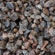 Granite gravel — Stock Photo