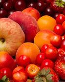 Assortment of various fruits — Stock Photo