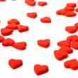 Many red hearts — Stock Photo