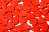 Red hearts love background — 图库照片