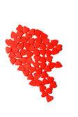Half of heart symbol — Zdjęcie stockowe