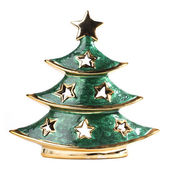 Christmas tree decoration figurine — Stockfoto