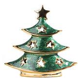Christmas tree decoration figurine — Stock Photo