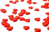 Röda hjärtan — Stockfoto
