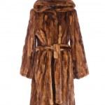 Women fur coat — Stock Photo