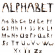 Alphabet People — Stock Photo