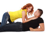 Sensual couple — Stock Photo