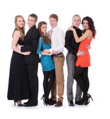 Beautiful young people — Stock Photo