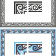 Historic ornament - 3 — Vector de stock