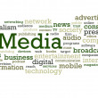 Stock Photo: MediWord Cloud