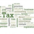 Tax Word Cloud — Stock Photo #12886810
